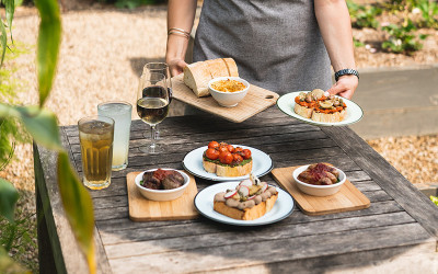 Paddock-to-plate cooking class and wine tasting at Green Olive at Red Hill