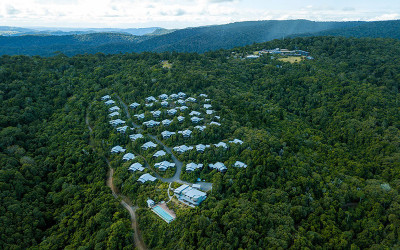 O'Reilly's Rainforest stop over helicopter tour - for 3