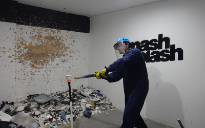 Smash room experience, Sydney