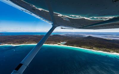 TAS: Freycinet National Park scenic flight