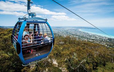 Arthurs Seat eagle cable car ride