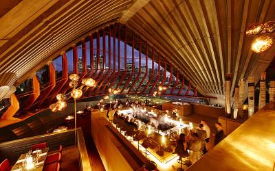 Inside Bennelong Restaurant
