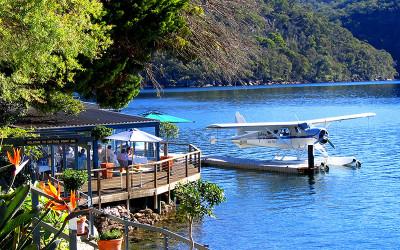 Cottage Point Inn Restaurant and seaplane