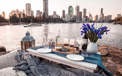 Romantic pop-up picnic - Brisbane
