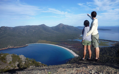 Wineglass Bay and Freycinet Bushwalking