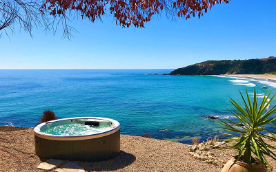 Kangaroo Island getaway with outdoor spa