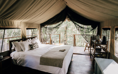 Jervis Bay glamping tent