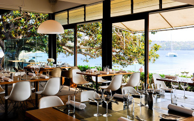Public Dining Room at Balmoral Beach