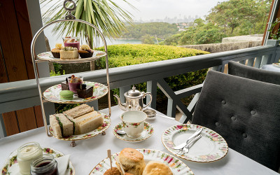 High tea at Gunners Barracks Mosman