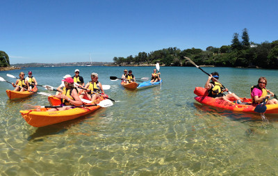 Kayak tour to Manly and Sydney beaches