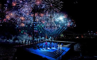 Sydney harbour opera La Traviata