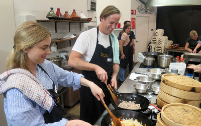 Chinese dim sum cooking class