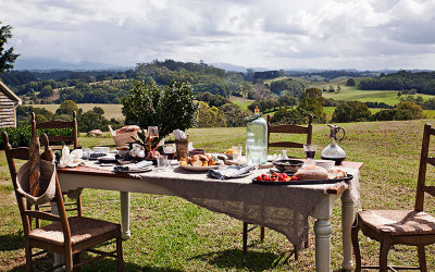 Organic cooking class in Byron Bay Hinterland