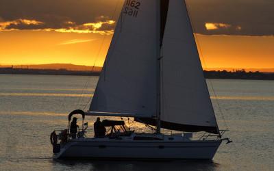 Sunset cruise, Mornington Peninsula