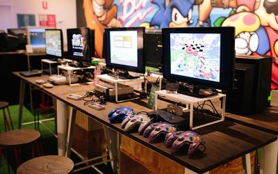 Video game museum Perth