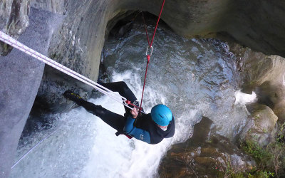 Canyoning, Queenstown, New Zealand