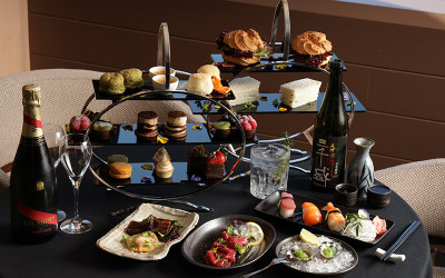 High tea at Intercontinental Adelaide