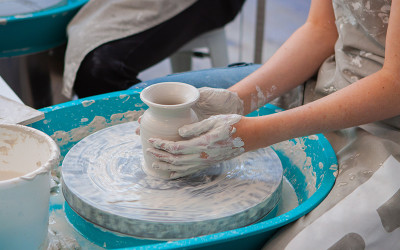 Private pottery class Bondi