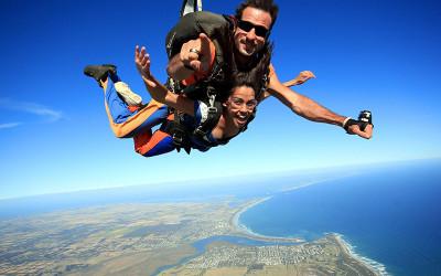Skydive over Great Ocean Road