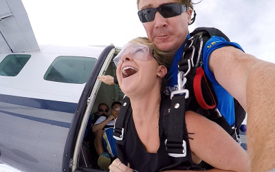 Skydive over Wollongong