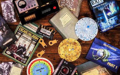 Escape room board games