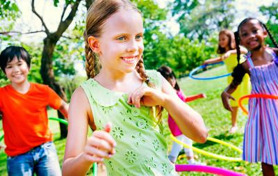 kids online hula hoop lesson
