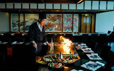 Japanese teppanyaki lunch or dinner, Melbourne