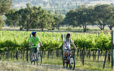 Bike tour and Mudgee getaway