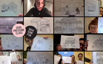 Learn to draw your house class