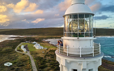 Cape Leeuwin Lighthouse guided tower tour