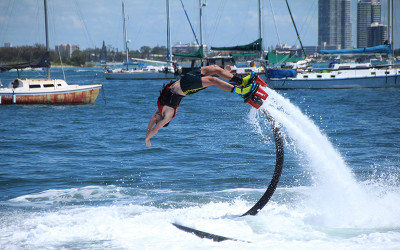 Flyboard lesson Gold Coast