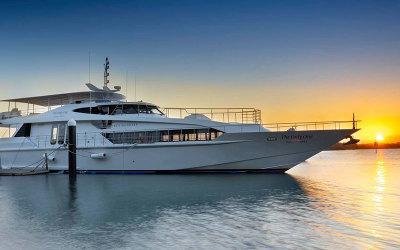 QLD: Gold Coast luxury sunset cruise