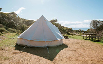 SA: Seaside glamping stay in Lincoln National Park - 2 nights