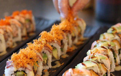 NSW: Sushi masterclass with drinks - for 2