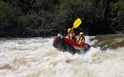 White water rafting Yarra River