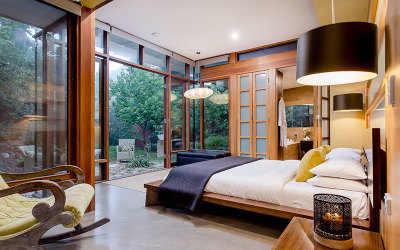 Overnight luxury villa stay Adelaide Hills