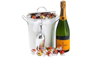 Veuve Clicquot champagne indulgence hamper
