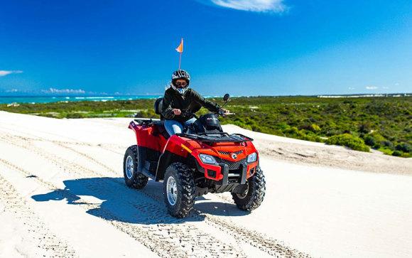 Quad biking and sand boarding tour