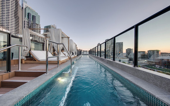 The Vibe Hotel Darling Harbour Sydney rooftop pool