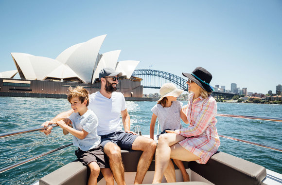 sydney harbour cruise family