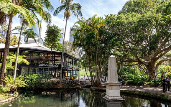 Botanic House Restaurant, Sydney's Royal Botanic Gardens