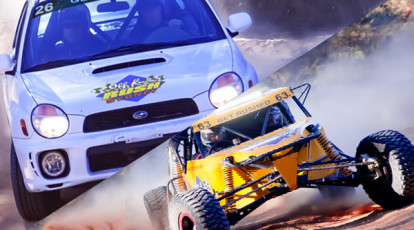 Rally Car and V8 Buggy Driving Experience - 18 Laps - Sydney