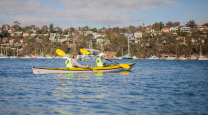 Middle Harbour Kayak Eco Tour with Morning Tea