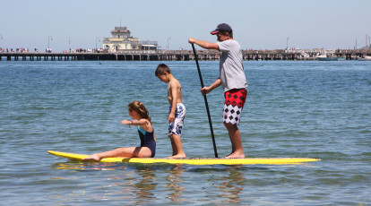 Learn to stand up paddle board