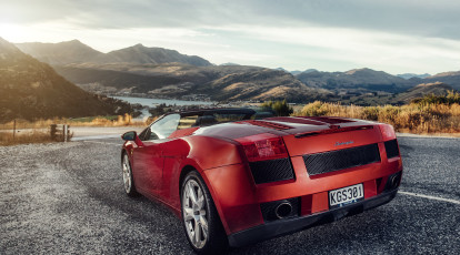 Lamborghini Car Hire with Helicopter Ride and Picnic - For 2