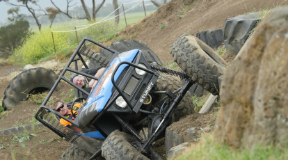 4WD Taster Adventure Drive and Passenger Lap - 1 Course