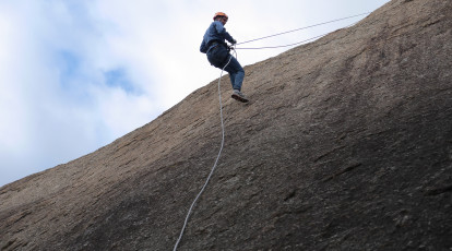 Abseiling in You Yangs Regional Park