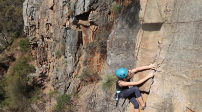 Rock Climbing and Abseiling - Full Day