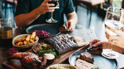 Meat Dining Experience with Wine - For 2