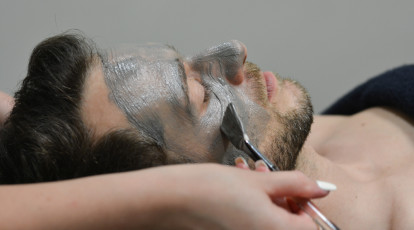 Facial Haircut and Style for men